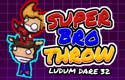 Super Bro Throw game