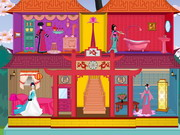 Chinese Princess Doll House game