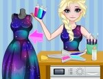 Elsa Diy Galaxy Dress game