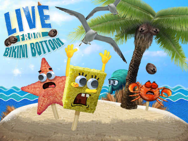 Spongebob Squarepants: Live From Bikini Bottom game