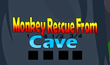 Monkey Rescue From Cave game