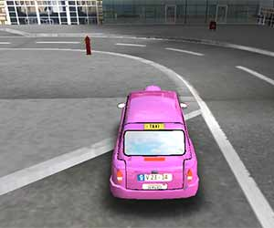 London Taxi 3D Parking game