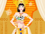 Barbie Egyptian Princess Dress Up game