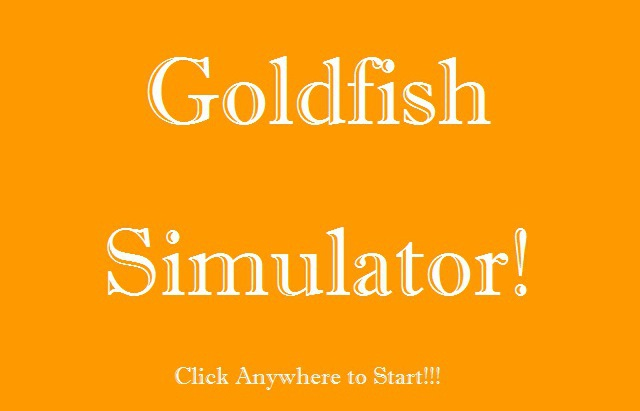 Goldfish Simulator game