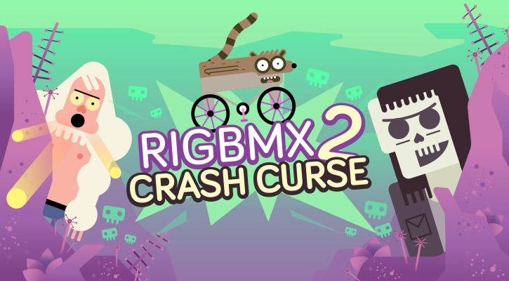 Rigbmx 2: Crash Curse game