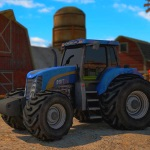 play Farm Tractor Driver 3D Parking