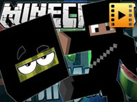 Minecraft | Fruit Ninja In Minecraft!! game