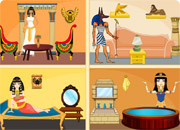play Egyptian Princess Doll House Decor
