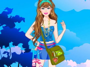 play Barbie Camping Princess Dress Up