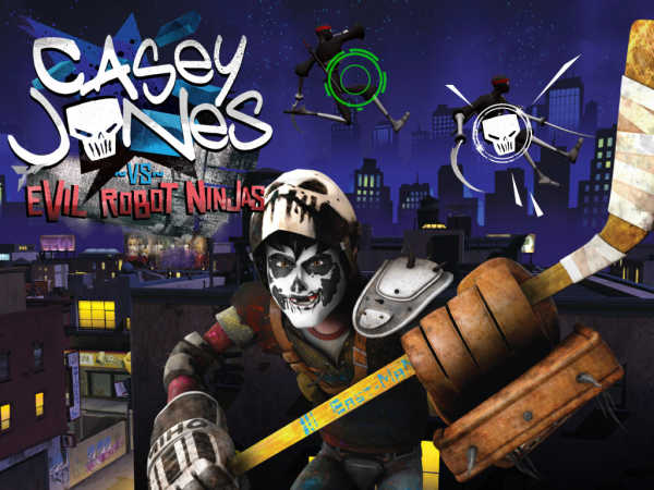 Teenage Mutant Ninga Turtles: Casey Jones Vs Evil Robot Ninjas game
