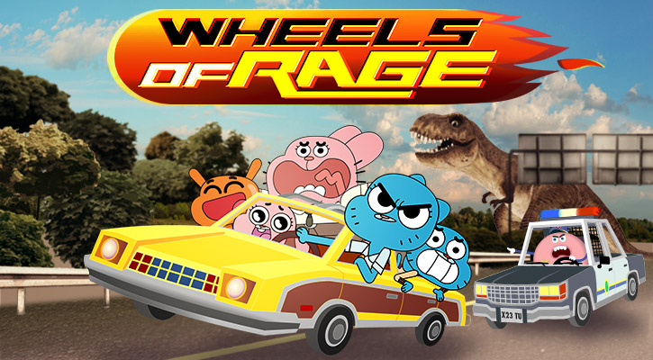 Wheels Of Rage game