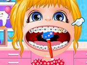 Baby Barbie Braces Doctor Girls Games