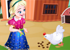 Frozen Anna Poultry game