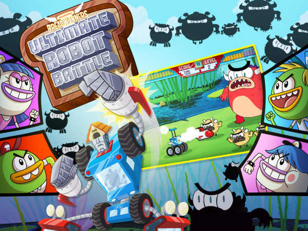 Breadwinners: Ultimate Robot Battle game