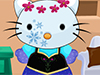 play Frozen Hello Kitty Dress Up