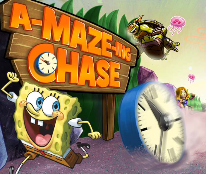 A-Maze-Ing Chase! game