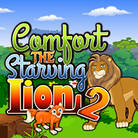Comfort The Starving Lion 2