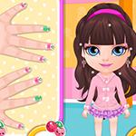 Baby Barbie Kawaii Nails