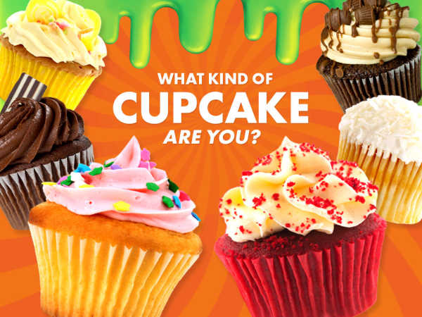 Nickelodeon: What Kind Of Cupcake Are You? game