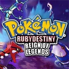 Pokemon Ruby Destiny Reign Of Legends game