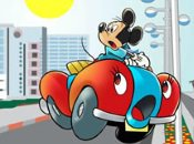 Mickey Car Puzzle game