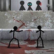Stick Figure Test Facility game