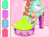 Hello Kitty Shoes Designer game