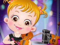 Baby Hazel Musical Melody game
