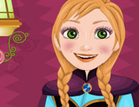 play Shopaholic Frozen Anna Dressup