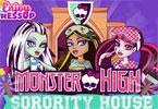 play Monster High Sorority House