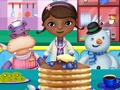 Doc Mcstuffins And Friends Cooking Pancakes game