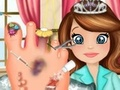 Princess Sofia Foot Infection game
