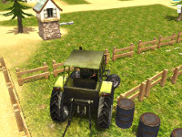 Tractor Parking License game