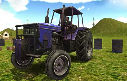 Tractor Parking License 3D game