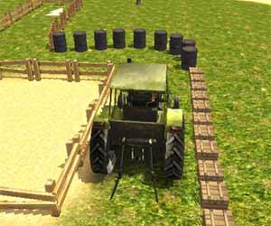play Tractor Parking 3D Webgl