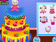 Hello Kitty Inspired Cake game