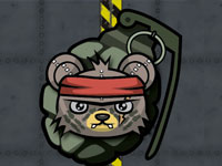 Teddy Bear Zombies: Grenades game