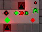 Geometric Tower Defense game