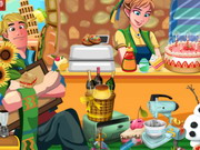 Frozen Princess Bakery game