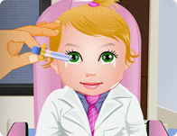 play Baby Juliet Eye Care