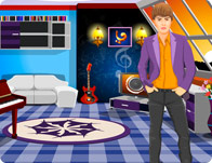 play Justin Bieber Room Decoration