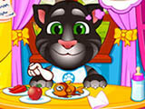 Talking Angela And Tom Cat Babies game