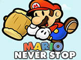 Mario Never Stop game