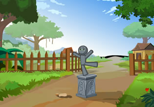 play Escape The Jolly Boy Statue