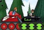 play Ben 10 Tank Battle