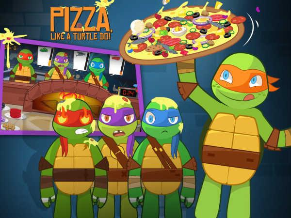 play Teenage Mutant Ninja Turtles: Pizza Like A Turtle Do!