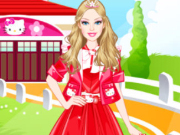 play Barbie Kitty Princess Dress Up