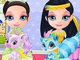 play Baby Barbie My Palace Pets