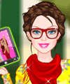 Barbie Selfie Pro Dress Up Game game
