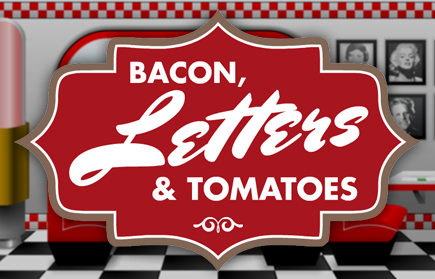 Bacon, Letters And Tomatoes game